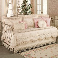 Shabby Chic Bedroom Sets - Foter - April 21 2019 at Daybed Sets, Daybed Bedding, Daybed Covers, Bedding Sets, Quilt Bedding, Duvet Covers, Shabby Chic Bedroom Furniture, Shabby Chic Living Room, Shabby Chic Bedrooms