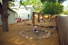 let the children play: Inspiring Waldorf / Steiner natural playscapes