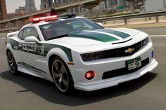 Chevrolet Camaro SS pour la Police de Dubaï - http://zapside.com/145_chevrolet-camaro-ss-police-dubai.html
