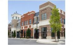 A beautiful new upscale shopping center with no tenants. Hang your. Centre Commercial, Commercial Real Estate, Commercial Street, Retail Space For Lease, Best Real Estate Investments, Strip Mall, Building Exterior, House Building, Building Ideas