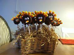 Oreo thanksgiving turkey's