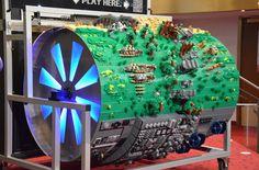 Lego organ barrel plays Star Wars theme