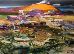 http://www.boumbang.com/giuseppe-gonella/ © Giuseppe Gonella, Untitled, acrylic on canvas,  200 x 150cm, 2012