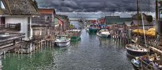 Fishtown Panorama Print By Twenty Two North Photography