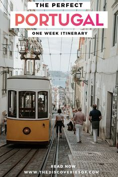 Portugal is one of the Europe travel destinations you need to visit now! Don't miss this awesome Portugal travel itinerary - from Lisbon to the beach. Read now #portugal #europe #traveldestinations #wanderlust
