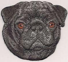 "2/"" x 2 1//8/"" Bichon Frise Head Portrait Dog Breed Embroidery Patch"