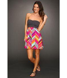 Roxy Savage Tube Dress (Juniors) Fuchsia Print - Zappos.com Free Shipping BOTH Ways