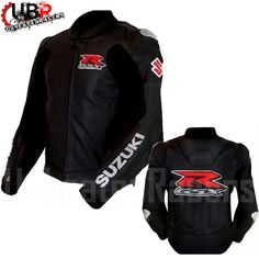Suzuki Motorbike Leather Jacket Unbeatenracers.com