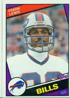 1984 Topps #27 Frank Lewis - Buffalo Bills (Football Cards) by Topps. $0.88. 1984 Topps #27 Frank Lewis - Buffalo Bills (Football Cards)