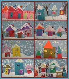 kindergarten snowy villages   my students and i have already…   Flickr