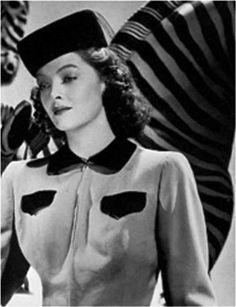 1940s Hats History - 20 Popular Women s Hat Styles f7e4ab0df75