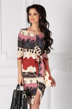 Rochii cu Imprimeuri Blouse Styles, Blouses For Women, Floral, Dresses, Fashion, Vestidos, Moda, Fashion Styles, Flowers