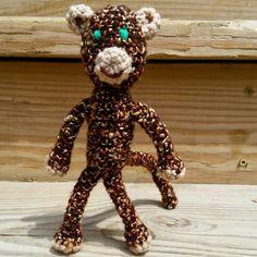 Monkey Amigurimi by BeccaTheCraftmeister on Etsy
