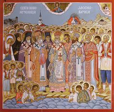 Holy New Martyrs of Jasenovac Concentration Camp Orthodox Christianity, The Eighth Day, Orthodox Icons, Blessed Mother, My Heritage, Catholic, Faith, Dates, Pilgrims