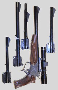 Guns - Thompson Center Contender set in - - - - Handgun, Firearms, Thompson Contender, Thompson Center, Shooting Sports, Hunting Guns, Home Defense, Guns And Ammo, Alternative Energy
