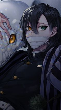 Obanai Iguro Kimetsu no Yaiba HD Mobile, Smartphone and PC, Desktop, Laptop wallpaper resolutions. Manga Anime, Art Anime, Fanarts Anime, Anime Demon, Otaku Anime, Demon Slayer, Slayer Anime, Cute Anime Boy, Anime Guys