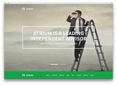 atrium proffesional law firm theme