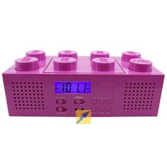 red lego boombox