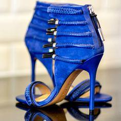 L.A.M.B. Katelyn Ankle Heel Sandals