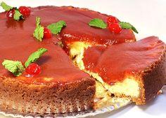 Cheesecake de Natal com Goiaba
