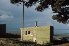 Robin Morrison, Cabin at Pakawai camping ground, Golden Bay. Ho Chi Minh Trail, New Zealand Landscape, Landscape Structure, Urban Landscape, Artistic Photography, Paths, Robin, Photographers, Houses
