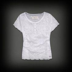 アバクロ レディース Tシャツ Abercrombie & Fitch SKYE TOP ニット Tシャツ-アバクロ 通販 ショップ-【I.T.SHOP】 #ITShop