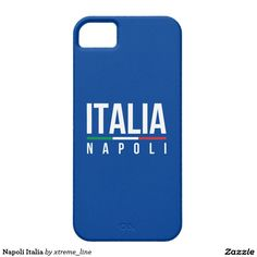 Napoli Italia iPhone 5 Cover.