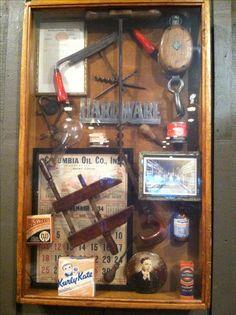 Antique Tool Display
