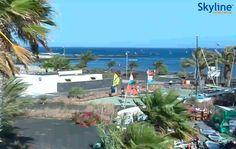 Live Cam Lanzarote - Playa de las Cucharas