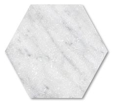Carrara Tumbled Marble Hexagon tiles - Mandarin Stone