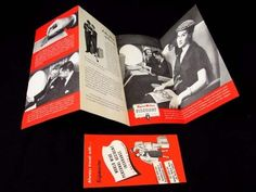 Vintage 1955 Capital Viscount Airline Turbo Prop Jet Brochure Accident Insurance