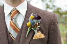 and the boutonniere version