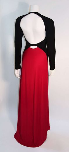 Geoffrey Beene 1980s Evening Gown | From a collection of rare vintage evening dresses at http://www.1stdibs.com/fashion/clothing/evening-dresses/