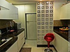 Cozinha e área de serviço #Arquitetura #Design