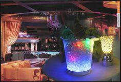 Led carga luminosa balde de gelo Led balde de gelo champagne luminosa balde de gelo balde de gelo transparente alishoppbrasil