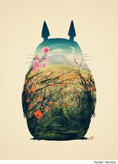 My Neighbor Totoro by Victor Vercesi