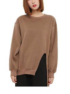 Coumll Spring Fashion Side Slit Harajuku Oversized Sweatshirts Tracksuits Black Xl ** Amazon most trusted e-retailer #HarajukuFashionJapan
