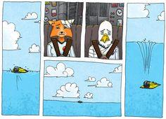 page 8 Le capitaine Amber et son second Mr Kobalt ont été séparés du Ydonker - Bande dessinée sur stiopic.com Voici ma BD participative: Mantar AZ09. Le principe est simple: vous votez pour la suite de l'histoire dans un strawpoll. Après une semaine, je relève les résultats et je dessine la suite, je vous la présente ensuite avec un nouveau strawpoll...