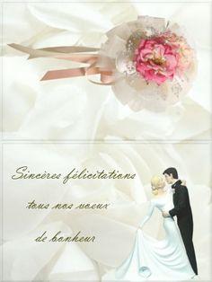 Feliciter sa copine pour son mariage