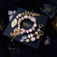 Bridesmaid Flip Flops, Beaded Jewelry, Handmade Jewelry, Bracelet Set, Jewelry Sets, Jewelery, Jewelry Design, Girly, Earrings