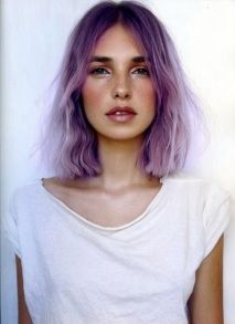 Hair Color Ideas: Purple | Pink Chocolate Break - Living The Creative Dream