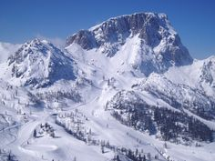 Nassfeld, Austria. Went there this past March and am now spoiled. Snowshoe may not cut it anymore...