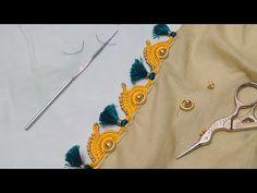 Easy Rangoli Designs Diwali, Simple Rangoli, Angel Crochet Pattern Free, Crochet Patterns, Saree Kuchu New Designs, Blouse Designs, Rakhi Making, Half Saree Lehenga, Mysore Silk Saree