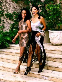 Melissa Fumero & Stephanie Beatriz