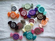 new mills woolly wander: How to make: Knitted and Crocheted candy