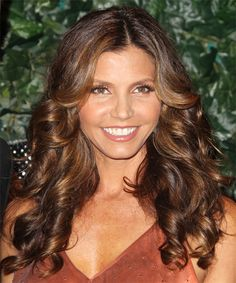 Charisma Carpenter Hairstyle - Formal Long Curly Hairstyle