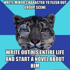 Half of my main characters were created this way. (Howard, Damon, Gordon, parsons, rust, Leonidas, vichy, and the list goes on. XD )