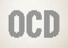 Mental Disorders Creatively Re-Imagined As Typography