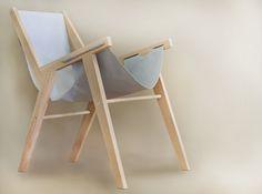 Projet étudiant : Lounge Chair par Tamara Svonja
