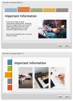 Free E-Learning & PowerPoint Template - Articulate Rapid E-Learning ...